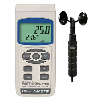 Anemómetro copa AM-4257SD