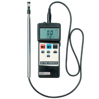 Anemómetro de hilo caliente AM-4204