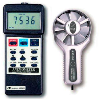 Anemómetro de veleta de metal AM-4206M