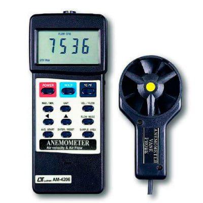 Anemómetro de veleta de plástico AM-4206