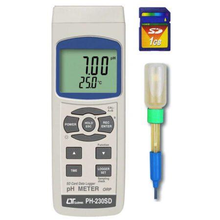 Medidor de PH portátil PH-230SD