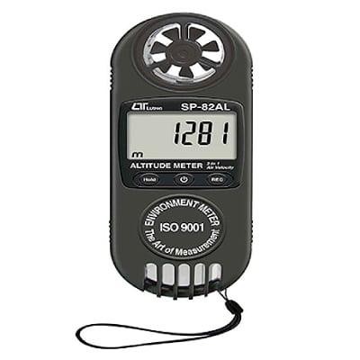 Medidor de altitud, Barómetro, Anemómetro SP-82AL