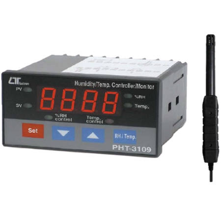 Panel de humedad y temperatura PHT-3109