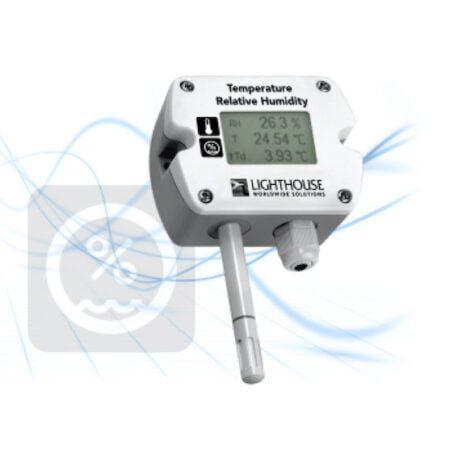 Sensor Temperatura:Humedad Relativa Remoto